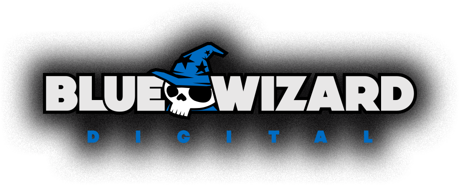 Blue Wizard Digital Logo
