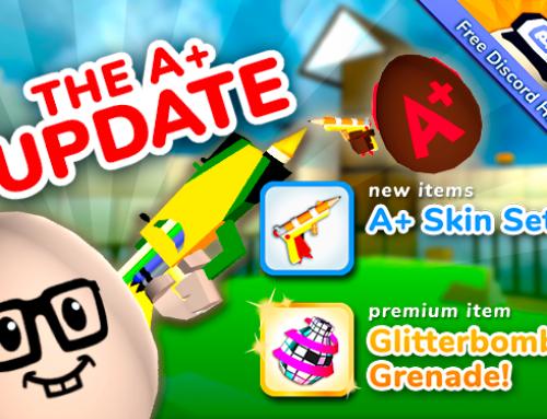 Shell Shockers Update: A+ Set!