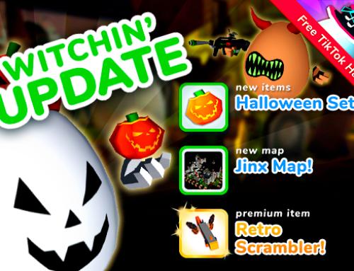 Shell Shockers Update: Witchin'!