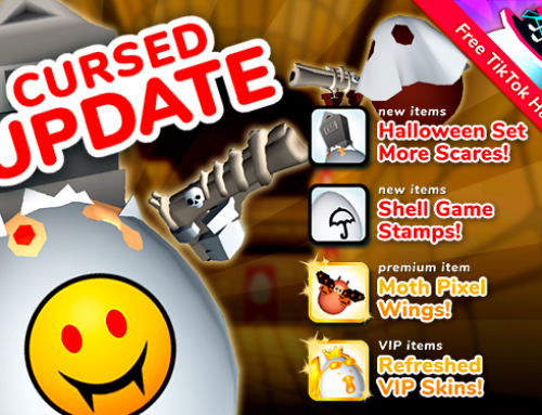 Shell Shockers Update: Cursed!