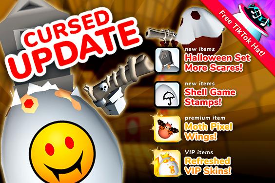 Shell Shockers Cursed Halloween Update